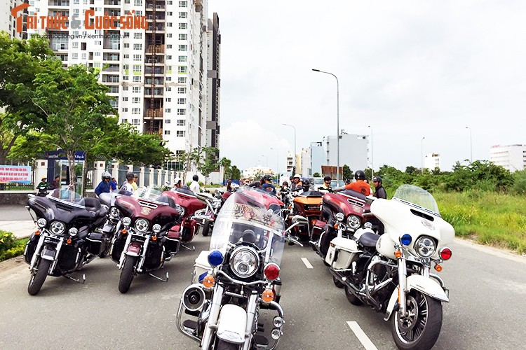 Gan 100 moto Harley-Davidson ra mat Clb HD - TP HCM-Hinh-6