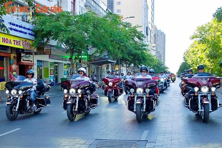 Gan 100 moto Harley-Davidson ra mat Clb HD - TP HCM-Hinh-8
