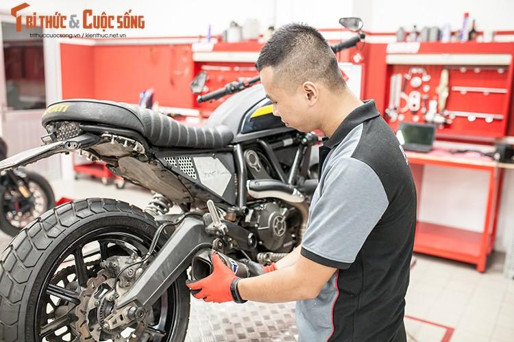 Ducati Viet Nam co showroom moto chuan 3S toan cau-Hinh-11