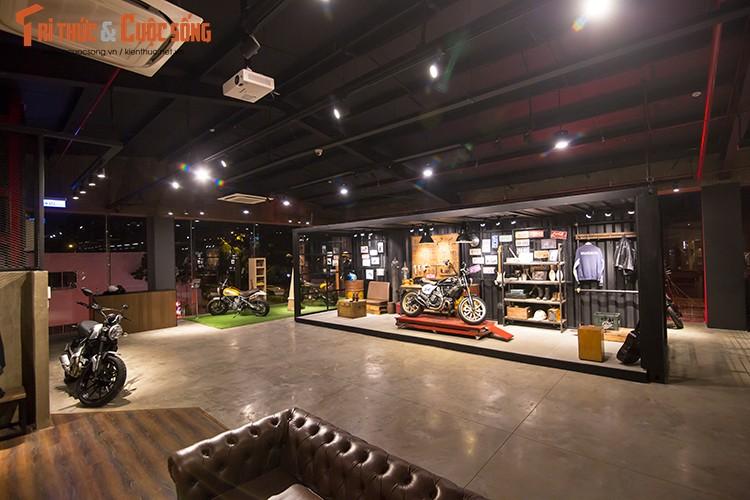 Ducati Viet Nam co showroom moto chuan 3S toan cau-Hinh-7