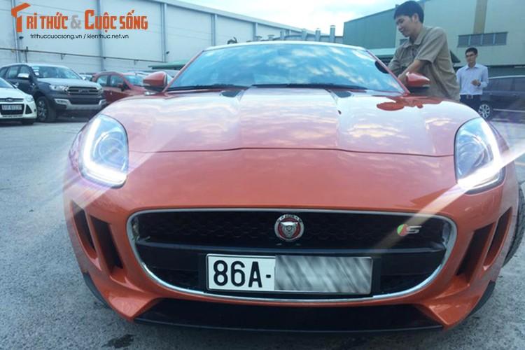 """Jaguar F-Type S gia gan 5 ty dong """"lam dau"""" Binh Thuan"""
