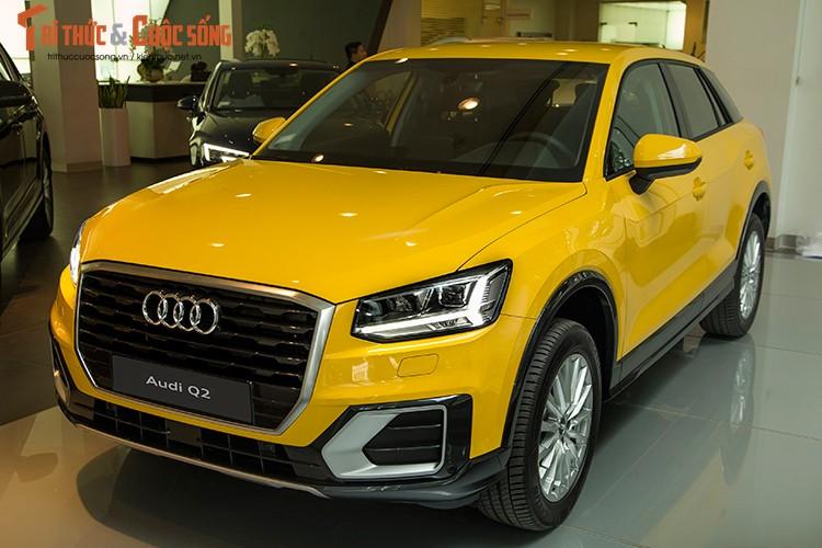 Can canh Audi Q2 2017 gia 1,5 ty tai Viet Nam