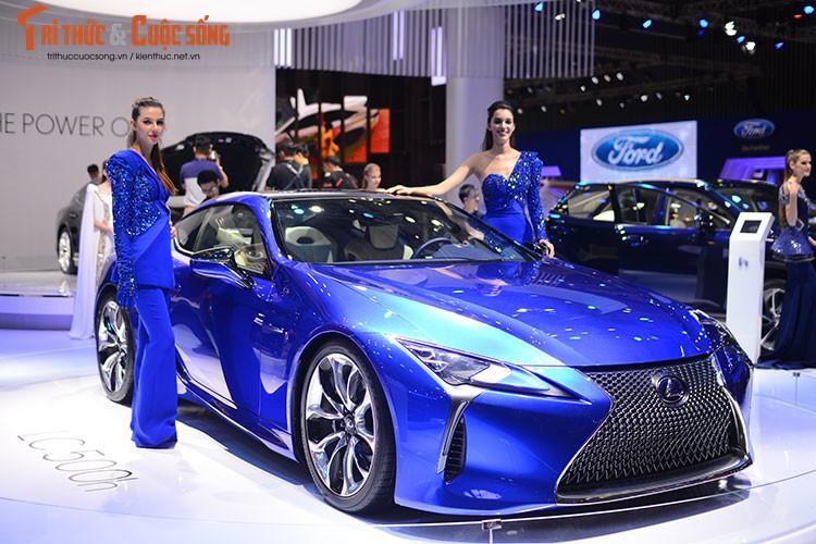 """""""Hang nong"""" Lexus LC500h tien ty ra mat tai Viet Nam-Hinh-10"""