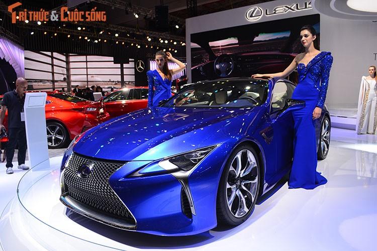 """""""Hang nong"""" Lexus LC500h tien ty ra mat tai Viet Nam-Hinh-2"""
