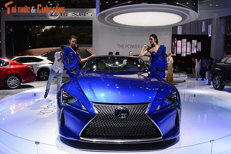 """""""Hang nong"""" Lexus LC500h tien ty ra mat tai Viet Nam-Hinh-3"""
