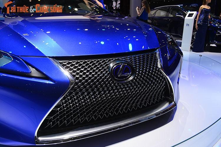 """""""Hang nong"""" Lexus LC500h tien ty ra mat tai Viet Nam-Hinh-4"""