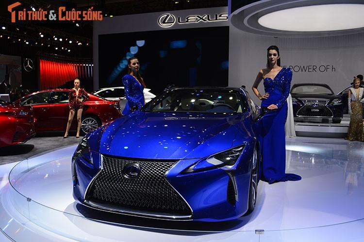 """""""Hang nong"""" Lexus LC500h tien ty ra mat tai Viet Nam-Hinh-9"""