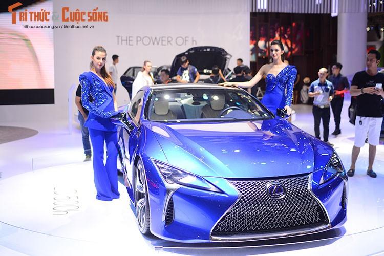 """""""Hang nong"""" Lexus LC500h tien ty ra mat tai Viet Nam"""