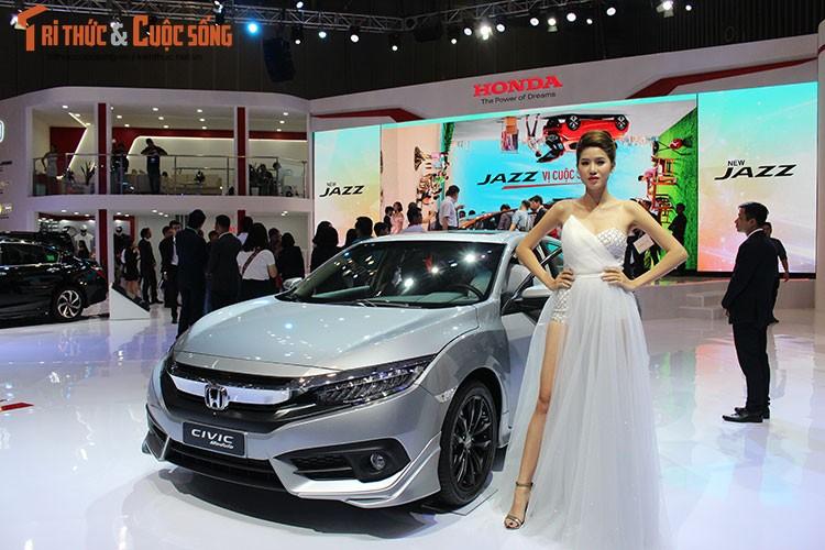 Dan oto Honda Viet Nam noi bat tai trien lam VMS 2017-Hinh-2