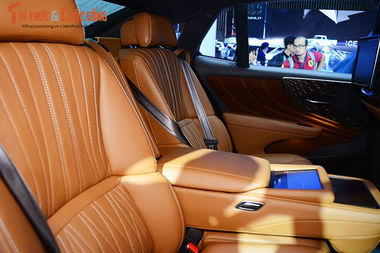 """Soi"" xe sang hybrid tien ty Lexus LS500h tai Viet Nam-Hinh-11"