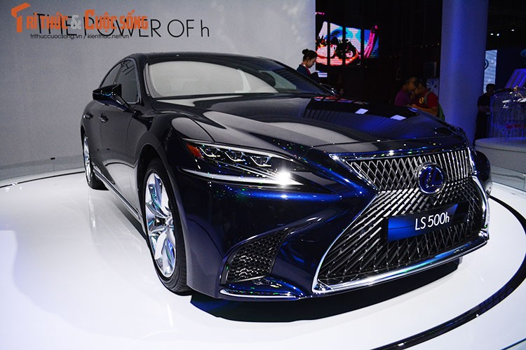 """Soi"" xe sang hybrid tien ty Lexus LS500h tai Viet Nam-Hinh-13"