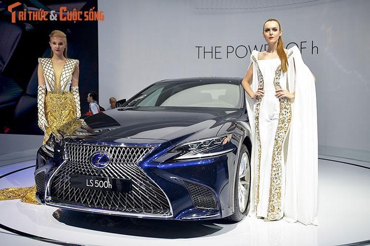 """Soi"" xe sang hybrid tien ty Lexus LS500h tai Viet Nam-Hinh-14"
