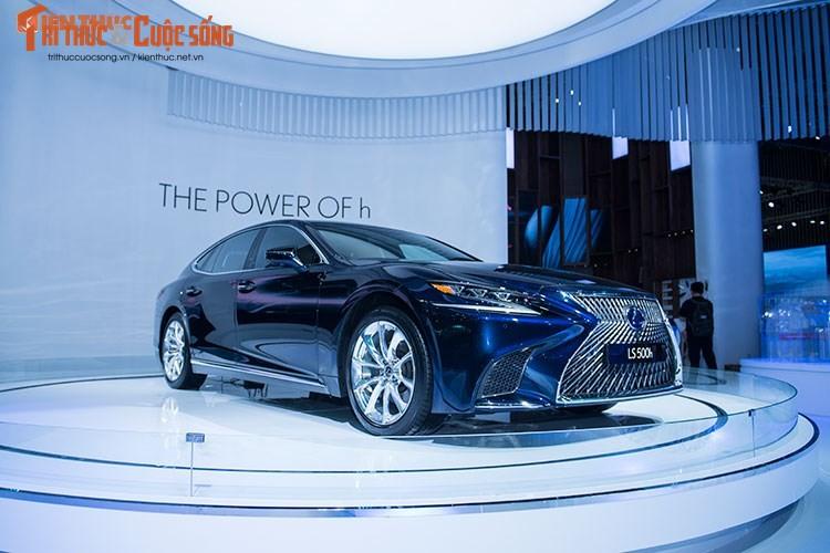 """Soi"" xe sang hybrid tien ty Lexus LS500h tai Viet Nam-Hinh-2"
