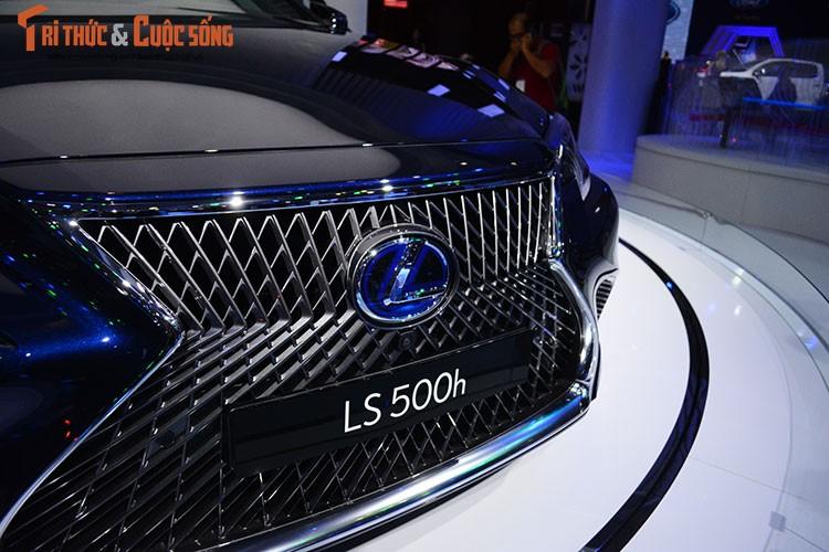 """Soi"" xe sang hybrid tien ty Lexus LS500h tai Viet Nam-Hinh-4"