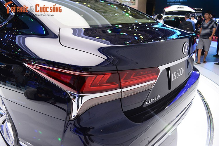 """Soi"" xe sang hybrid tien ty Lexus LS500h tai Viet Nam-Hinh-5"
