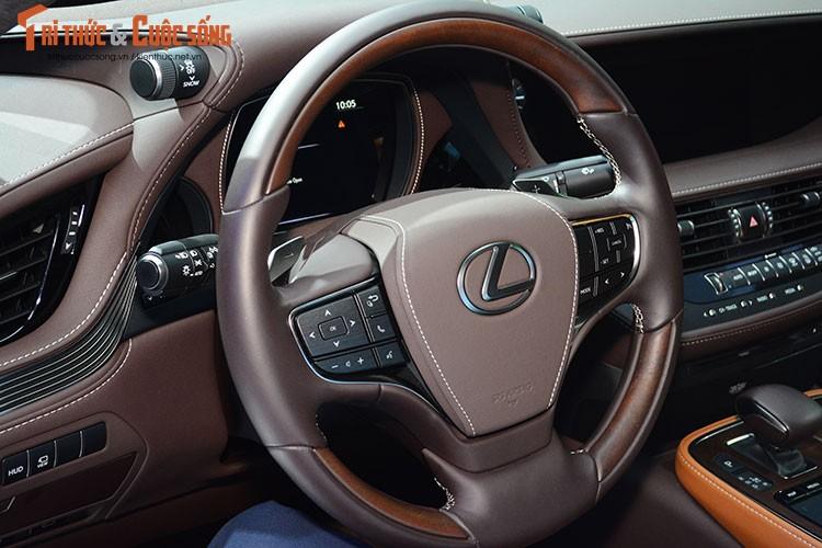 """Soi"" xe sang hybrid tien ty Lexus LS500h tai Viet Nam-Hinh-8"