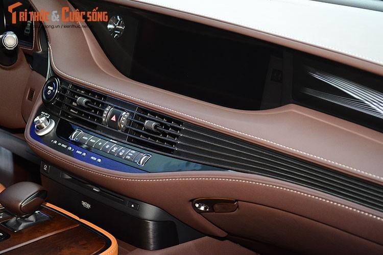 """Soi"" xe sang hybrid tien ty Lexus LS500h tai Viet Nam-Hinh-9"