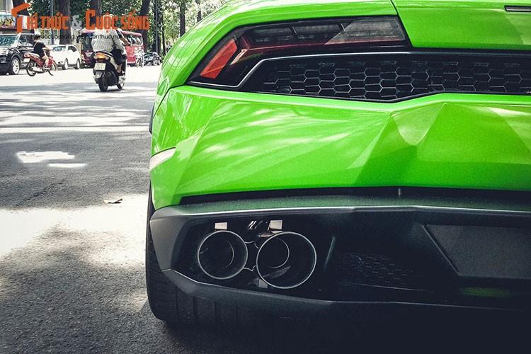 """Lamborghini Huracan """"mau doc"""" gia hon 20 ty tai Sai Gon-Hinh-5"""