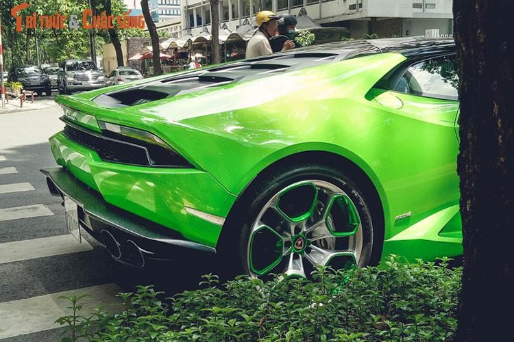 """Lamborghini Huracan """"mau doc"""" gia hon 20 ty tai Sai Gon-Hinh-6"""