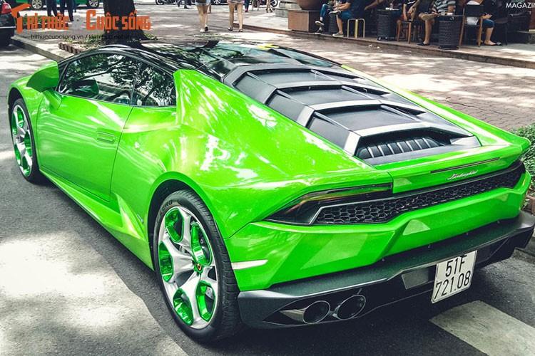 """Lamborghini Huracan """"mau doc"""" gia hon 20 ty tai Sai Gon-Hinh-8"""