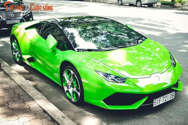 """Lamborghini Huracan """"mau doc"""" gia hon 20 ty tai Sai Gon-Hinh-9"""