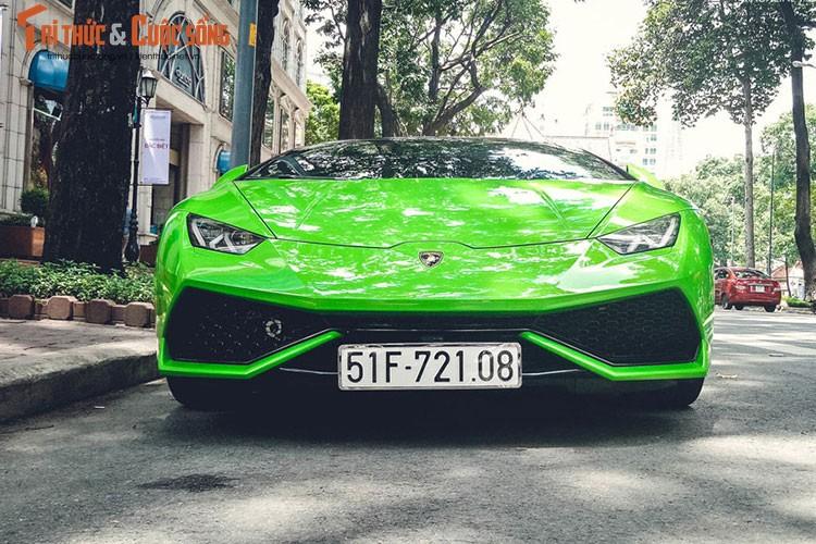 """Lamborghini Huracan """"mau doc"""" gia hon 20 ty tai Sai Gon"""