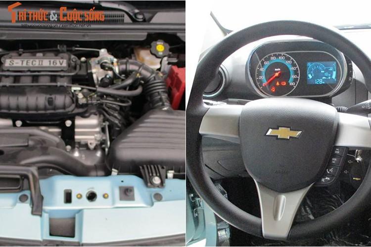"Oto sieu re Chevrolet Spark 2018 ""lo hang"" tai Viet Nam-Hinh-6"