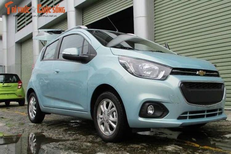 "Oto sieu re Chevrolet Spark 2018 ""lo hang"" tai Viet Nam-Hinh-7"