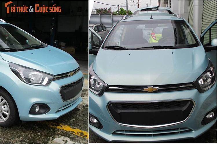 "Oto sieu re Chevrolet Spark 2018 ""lo hang"" tai Viet Nam"