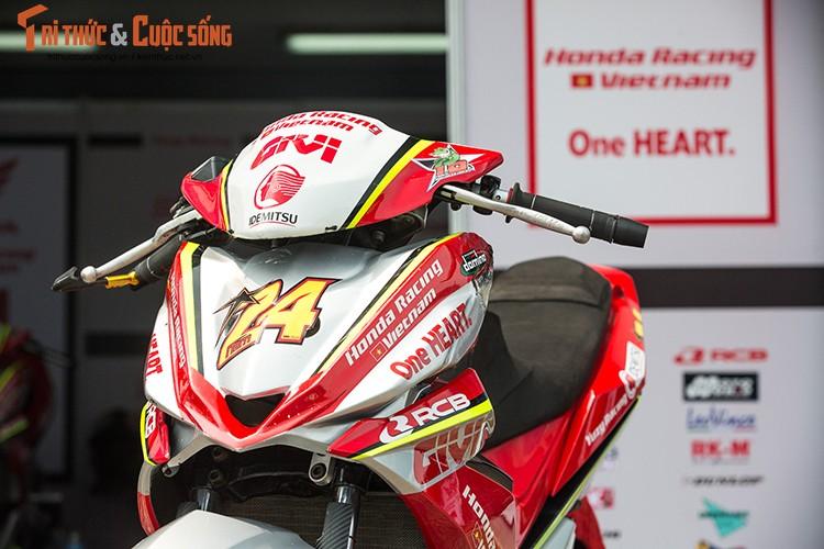 """Soi"" xe may Honda Winner Viet Nam do dua sieu khung-Hinh-2"
