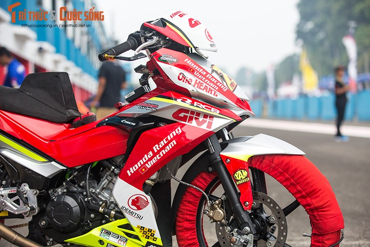 """Soi"" xe may Honda Winner Viet Nam do dua sieu khung-Hinh-3"