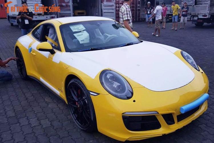 Sieu xe Porsche 911 GTS 2017 gia hon 8 ty ve Viet Nam