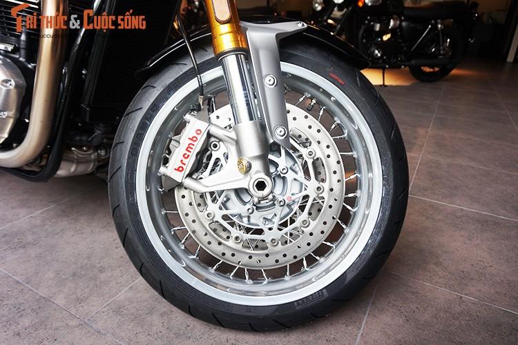 Moto Triumph Thruxton R chinh hang gia 595 trieu tai VN-Hinh-8