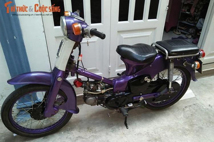 Honda sieu Cub 50 gia chi 5,5 trieu tai Sai Gon
