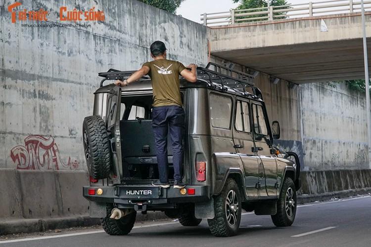 Xe oto Nga UAZ Hunter do 200 trieu dong tai Ha Noi-Hinh-8