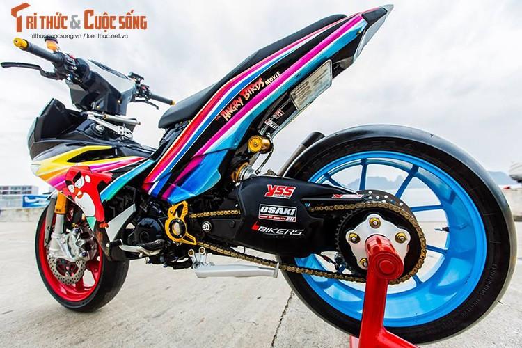 Xe no Yamaha Exciter 135 do chat nhat Vinh Bac Bo-Hinh-2
