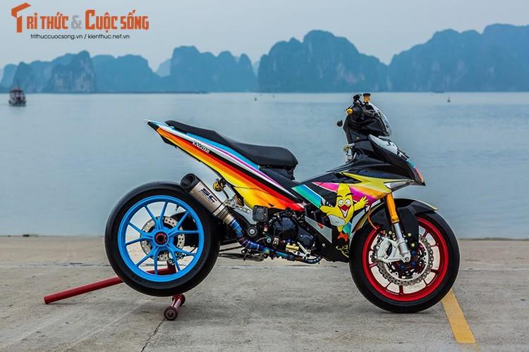 Xe no Yamaha Exciter 135 do chat nhat Vinh Bac Bo
