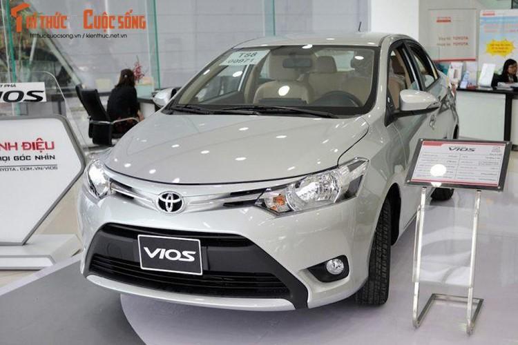 "Oto ban chay nhat Viet Nam - Toyota Vios giam gia ""soc""-Hinh-16"