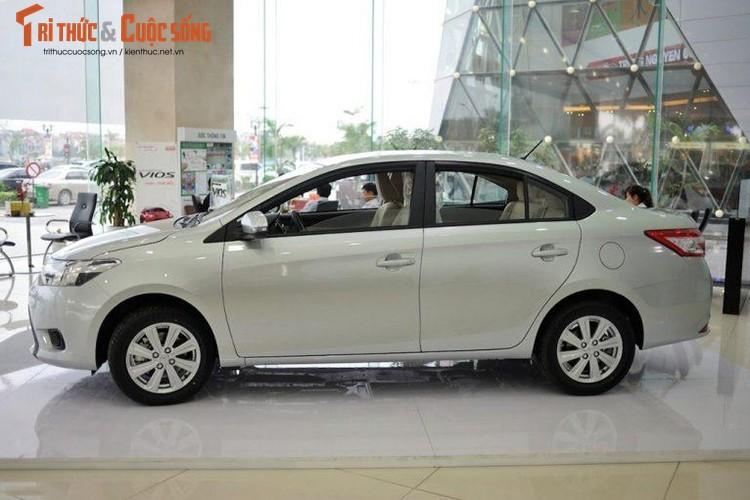"Oto ban chay nhat Viet Nam - Toyota Vios giam gia ""soc""-Hinh-2"