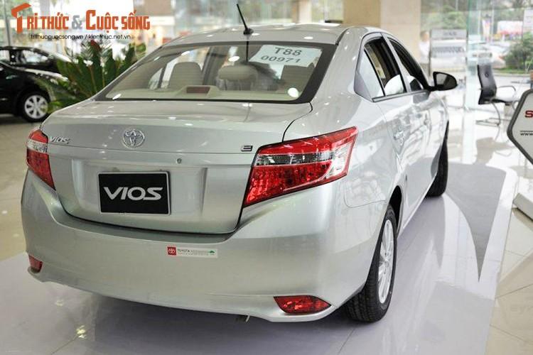 "Oto ban chay nhat Viet Nam - Toyota Vios giam gia ""soc""-Hinh-5"