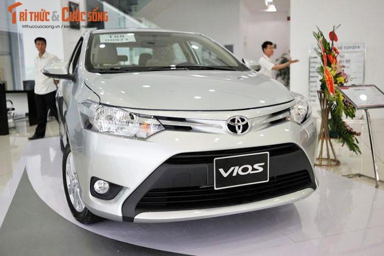 "Oto ban chay nhat Viet Nam - Toyota Vios giam gia ""soc"""