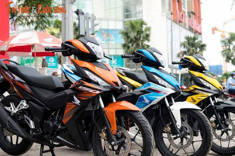 Top 10 xe may Honda Winner do dep nhat Viet Nam