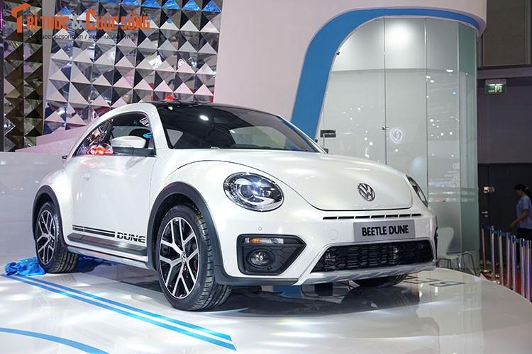 """""""Con bo"""" Volkswagen Beetle gia hon 1,4 ty tai Viet Nam"""