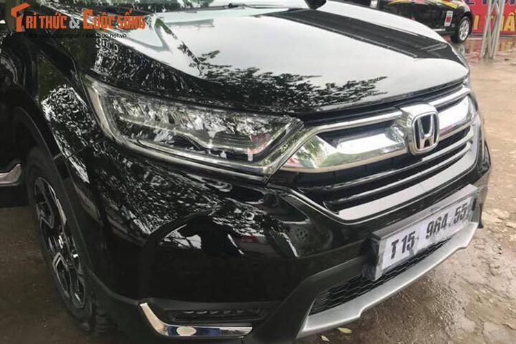 """Hang nong"" Honda CR-V 7 cho lan banh o Ha Noi-Hinh-2"
