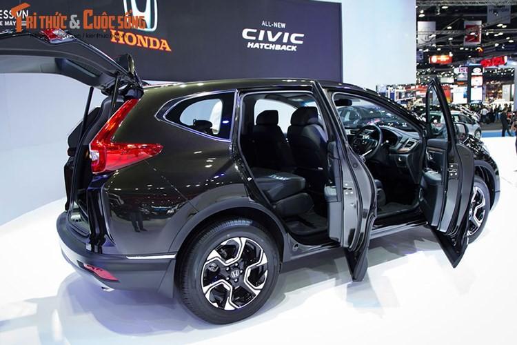 """Hang nong"" Honda CR-V 7 cho lan banh o Ha Noi-Hinh-7"