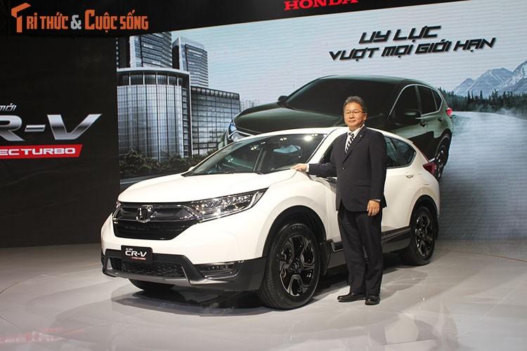 Can canh Honda CR-V 7 cho gia hon 1 ty tai VIet Nam