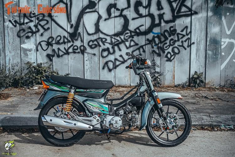 Xe may Honda Dream II do hon 200 trieu tai Lam Dong-Hinh-12
