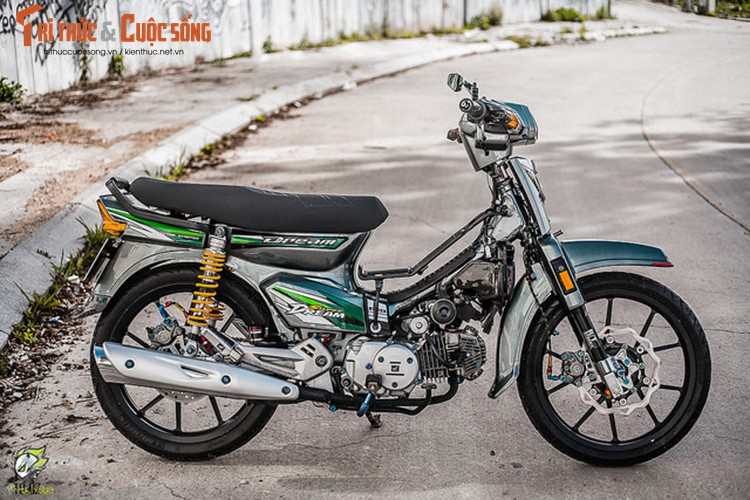 Xe may Honda Dream II do hon 200 trieu tai Lam Dong