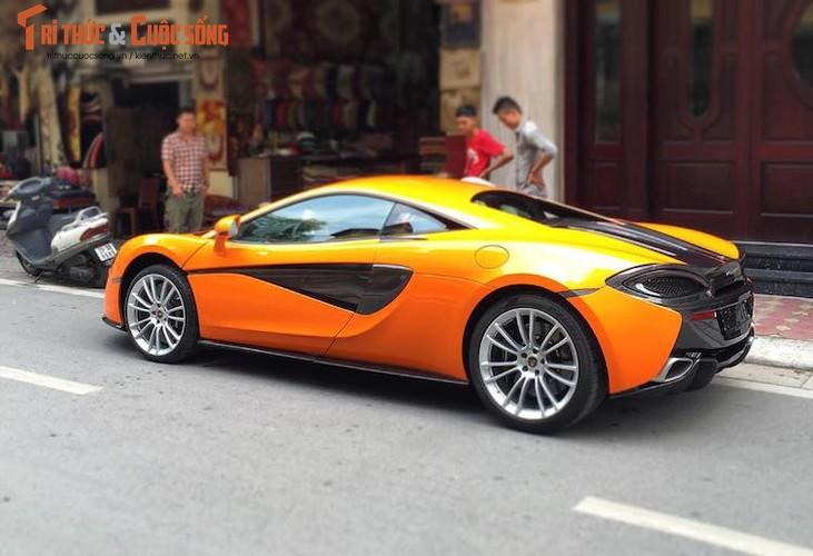 Xe tien ty McLaren 570S vua