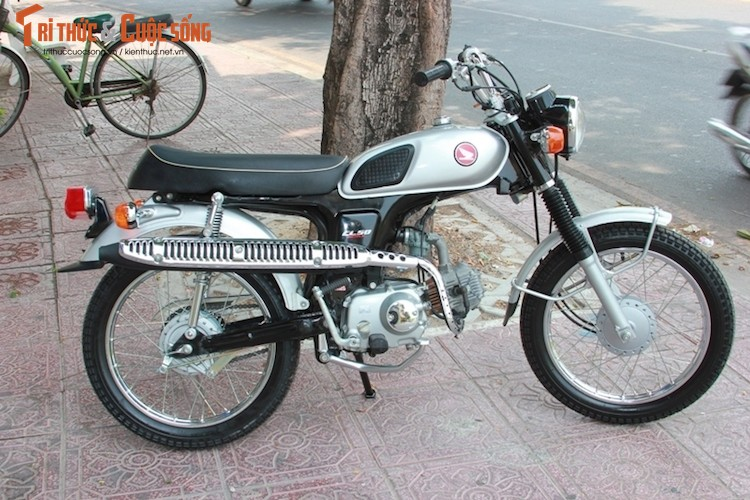 Chi tiet xe may Honda CL50 Benly gia hon 100 trieu dong-Hinh-13